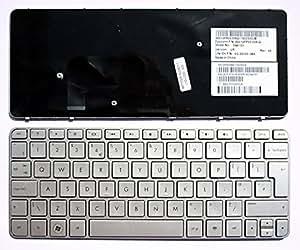 HP Mini 210-2002sl Argent Cadre Argent Layout Royaume-Uni Clavier pour ordinateur portable (PC) de remplacement