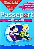 Passeport : Du CE1 vers le CE2