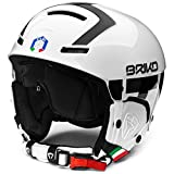 Briko - Faito FISI - Casco Sci/Snowboard - White/Black