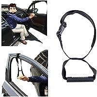 Dispositivos de ayuda para sujetarse en el coche, instrumento para discapacidades, asa de apoyo para vehículos y ayuda de movilidad, color negro