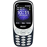 Kara K-18 Selfie Camera 3310 With Curved IMF Glass, 2200 MAH Battery (Navy Blue)