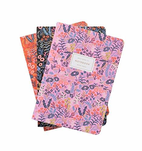 Gewehr Papier Company Stickset Notizbuch-Set von drei sortiert genäht Notebooks