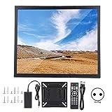 Bewinner Schermo da 17 Pollici Monitor TFT Touch Screen 4: 3 1280x1024 Risoluzione Fisica 1000: 1 Ingresso VGA/HDMI Montaggio a Parete Display Touch Industriale Capacitivo in Metallo(Nero)