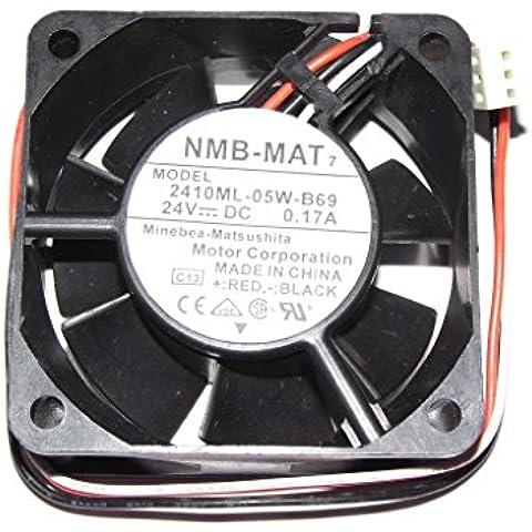 NMB 6cm 2410ml-05W-b6924V 0.17A 3Cavo di 6cm Ventola di raffreddamento