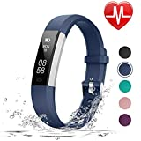 LETSCOM Fitness Tracker HR, Fitness Watch with Heart Rate Monitor, Slim Watch
