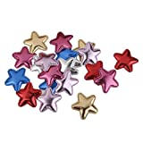 Best GENERIC Games For Girls - Generic 20Pcs Pu Pentagram Hair Clips For Making Review