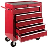 Best Tool Cabinets - Arebos Tool Trolley with 5 drawers/lockabel/red, blue or Review