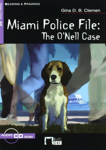 Miami Police File+cd (a.2) (Black Cat. reading And Training) por Cideb Editrice S.R.L.