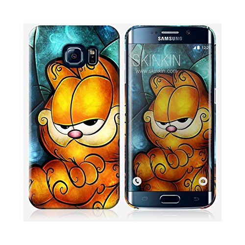 Coque iPhone 5 et 5S de chez Skinkin - Design original : Garfield par Mandie Manzano Coque Samsung Galaxy S6 Edge