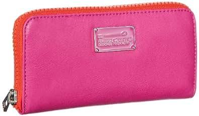 Mexx 13eaw250 Colourblock Wallet 3FEWM001, Damen Geldbörsen, Pink (Hawaian Pink 669), 10x19x2 cm (B x H x T)