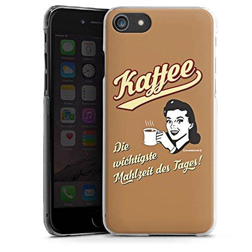 Apple iPhone X Silikon Hülle Case Schutzhülle Kaffee Statement Lustig Hard Case transparent