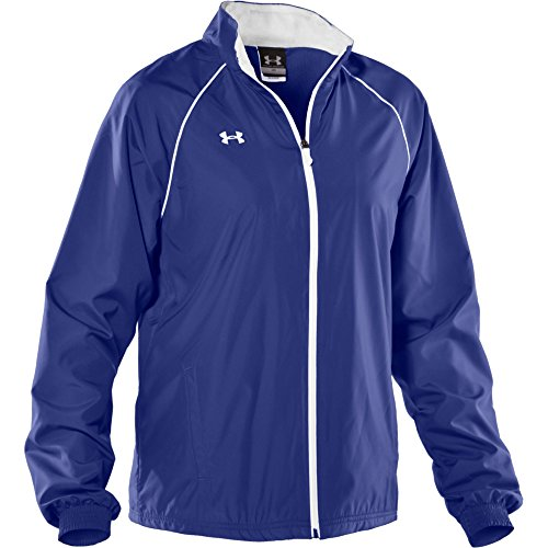 Under Armour Damen Advance Woven Warm Up Jacke Klein Royal Woven Warm Up Jacket
