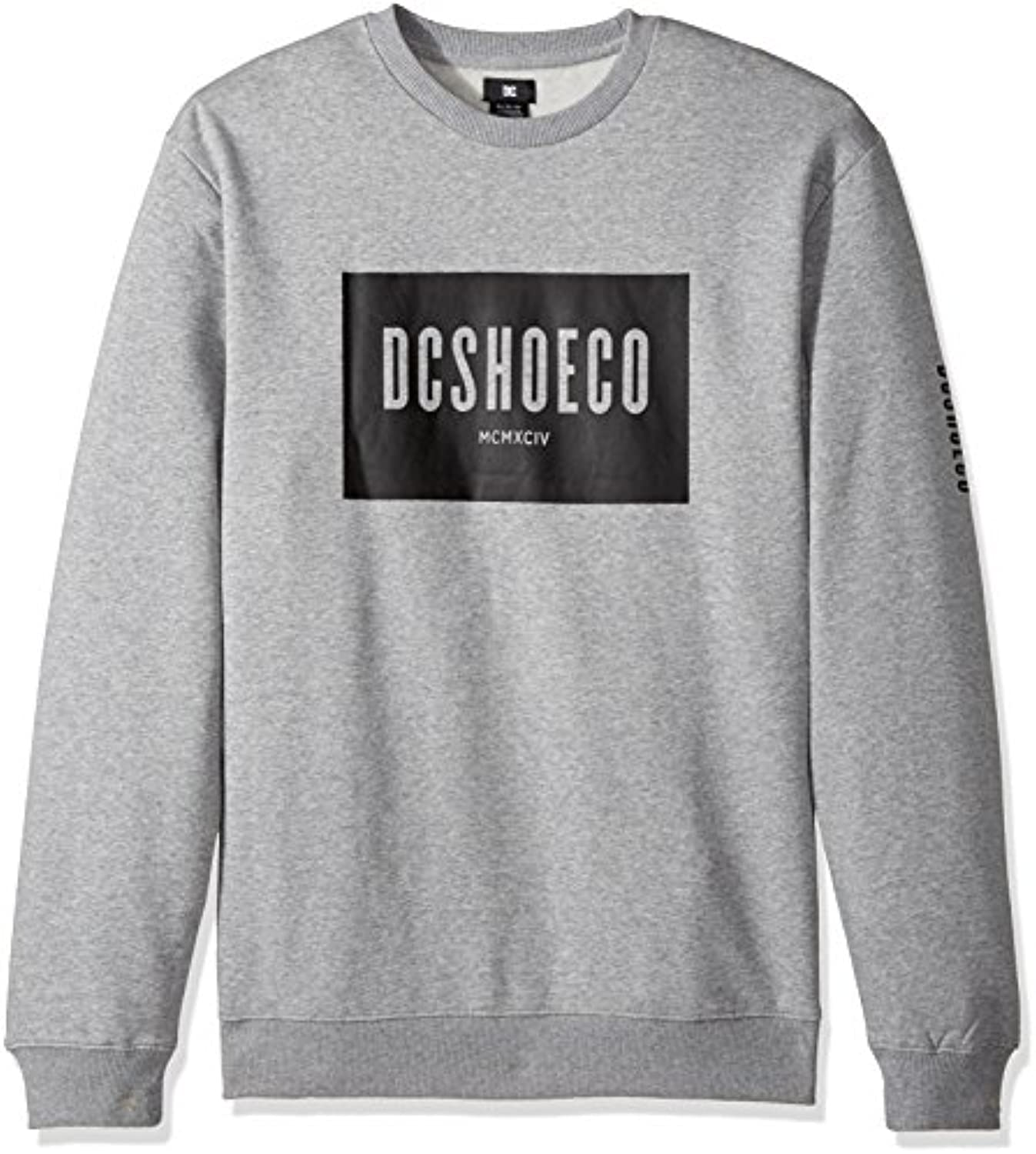 DC   Dc   Herren Squareside Fleece  Medium  Grey Heather