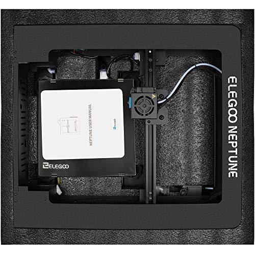 ELEGOO NEPTUNE 3D Drucker FDM 3D Printer Metall Prusa i3 Bauraum 205 x 205 x 200 mm Kompatibel mit TPU/PLA/ABS Filament - 7