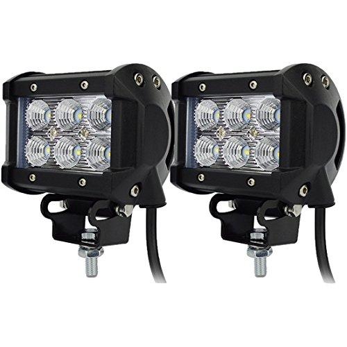 Preisvergleich Produktbild jinyjia 10, 2 cm 18 W CREE LED-Arbeitsleuchte