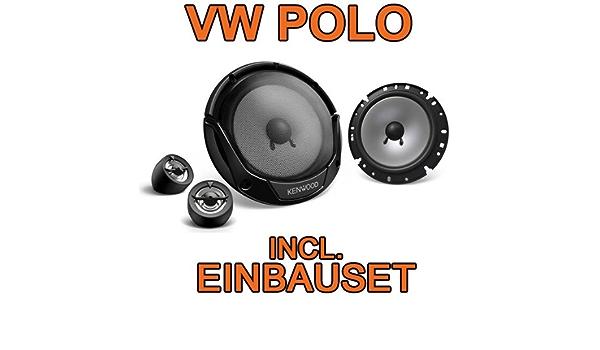 Kenwood Kfc E170p 16cm 2 Wege Lautsprecher Einbauset Für Vw Polo 9n 9n3 Just Sound Best Choice For Caraudio Navigation