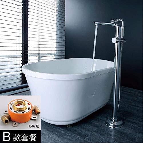 Kupfer wasserhahn badewanne wasserhahn boden wasserhahn sitz dusche wasserhahn alle kupfer badewanne @ Pre-embedded box halter B set -