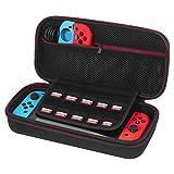 Nintendo Switch Hülle - Younik Verbesserte Version Harte Reise Tasche mit größerem Speicherplatz für Nintendo Switch