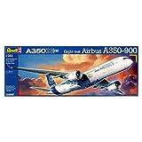 Revell Modellbausatz Flugzeug 1:144 - Airbus A350-900 im Maßstab 1:144, Level 5, originalgetreue Nachbildung mit vielen Details, Zivilflugzeug, Passagierflugzeug, 03989