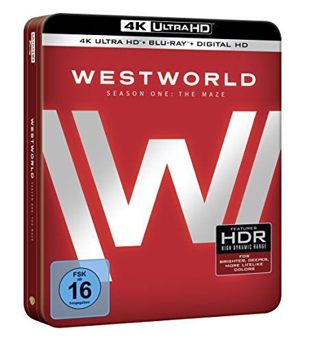 Westworld Staffel 1: Das Labyrinth (Steelbook) – Ultra HD Blu-ray [4k + Blu-ray Disc] - 4