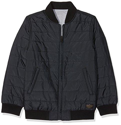 Quiksilver Jungen Darkfieldyouth B Kvj0 Jacket, Anthracite/Solid, S/10