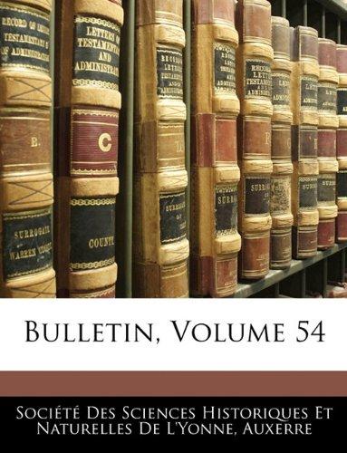 Bulletin, Volume 54