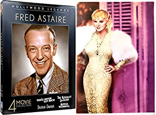 Buxom Beauty Funny Mae West + Fred Astaire Collection I'm No Angel / Goin to Town / Night After / Royal Wedding / Notorious Lan