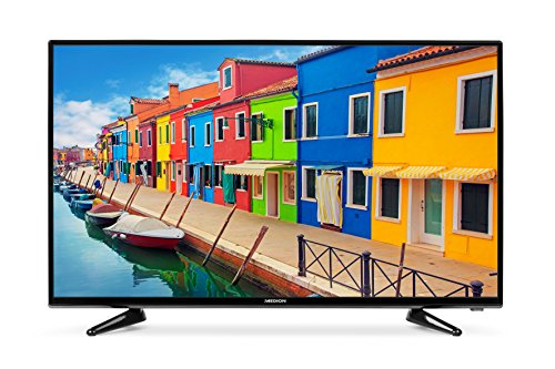 MEDION P12314 101,6 cm (40 Zoll Full HD) Fernseher (Triple Tuner, DVB-T2 HD, DVD-Player, Mediaplayer, HDMI, CI+, USB)