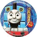 Set de 8 platos de postre de Thomas y sus amigos