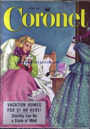 CORONET - STERILITY CAN BE A STATE OF MI...