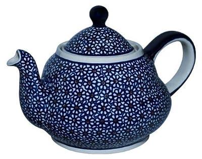 Bunzlauer keramik théière en céramique avec passoire intégrée 2 l (motif n ° 120