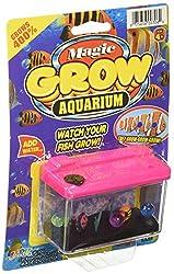 JA-RU Magic Grow Fish Aquarium Kit (2 Pack, 2 Random Colors)