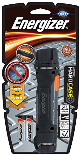 2aa Energizer (Energizer Taschenlampe Hardcase LED 2AA (300 Lumen, 115 m Reichweite, wetterfest IPX 4))