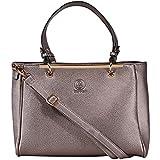 bag lovers - First Love - Wunderschöne Handtasche für Damen - Stylische Tote bag in Premiumqualität - mit Schulterriemen - metallic