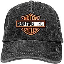ETXHU - Gorra de béisbol - para Hombre Harley Davidson Motor Cycles Logo t 4 Taille