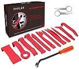 Auto Demontage Werkzeuge, Phyles 14 Stück Auto Zierleistenkeile-Set Automotive Reparatur Werkzeug Universal für Entfernung Autotür Türverkleidung und Platten, Rot