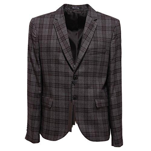 3371Q giacca uomo grigio nero GAUDI' IRONIC DANDY jacket men [48]