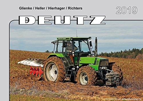 Kalender 2019 Deutz Schlepper im Einsatz
