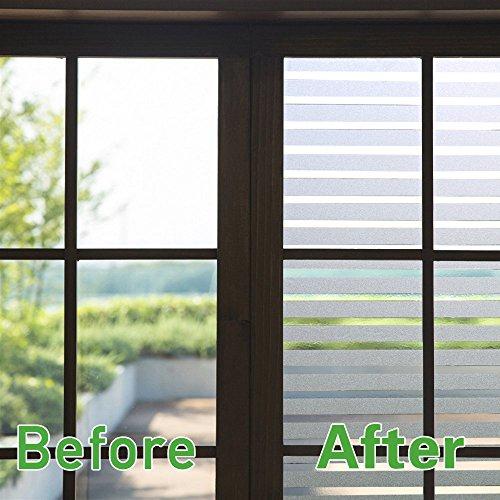 Zindoo pellicola privacy per finestre adesivi vetro - Adesivi natalizi per finestre ...