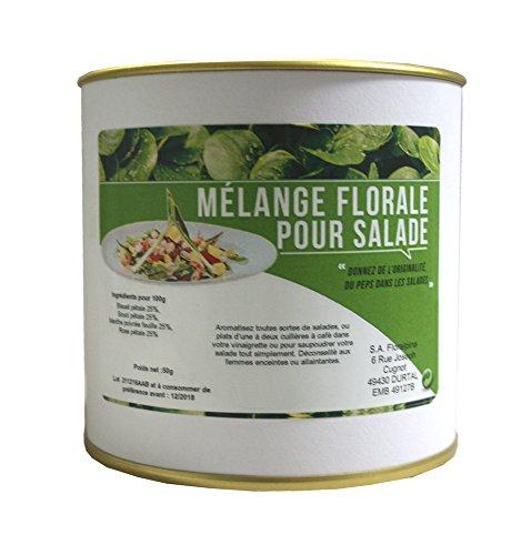 Mélange florale pour salade