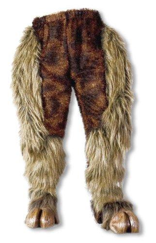 Monster Fell Hose braun (Für Fell Kostüme)