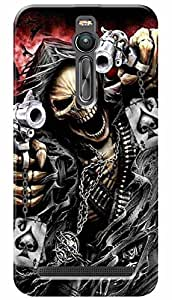 Lets Play Premium Printed Soft Silicon Case Mobile Cover for Asus Zenfone 2 ZE551ML
