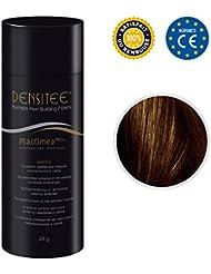 Poudre matifiante pour cheveux - ANTI CALVITIE & ALOPÉCIE - Poudre capillaire densifiante - DENSITEE, la solution immédiate - Masque calvitie, perte de cheveux & racines - Microfibres de KÉRATINE NATURELLE - Brun Foncé - Mascara cheveux - Normes CE