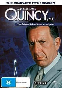 Quincy M.E. (Complete Season 5) - 6-DVD Box Set ( Quincy ME - Complete Fifth Season ) ( Quincy M E - Complete Season Five )