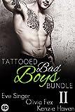 Tattooed Bad Boys Bundle #2: 3 Story Anthology (Bad Boy Bundles by Smutpire Press)