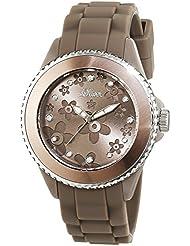 s.Oliver Damen-Armbanduhr XS Analog Quarz Silikon SO-2561-PQ