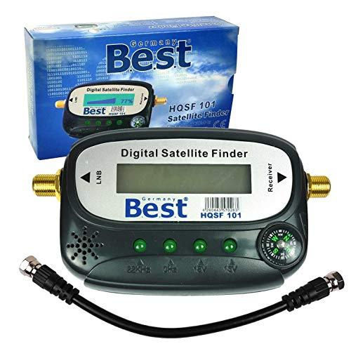 Digital HD sat Finder satfinder Best écran LCD Boussole HDTV 3d 4k +  FCâble