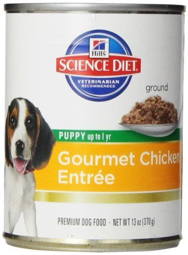 hills-science-diet-puppy-gourmet-chicken-entree-dog-food-13-ounce-can-12-pack-by-hills-science-diet-