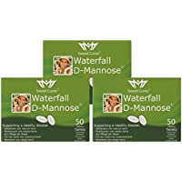 Sweet Cures Waterfall D-Mannose 1g Tablets (3x 50 Tablets) Multi Buy