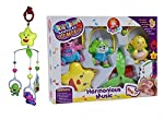 Vibgyor Vibes 5 Pcs Lovely Colourful Musical Hanging Rattle Toys with Hanging Cartoons for Toddlers/Babies/Infants/New-Borns